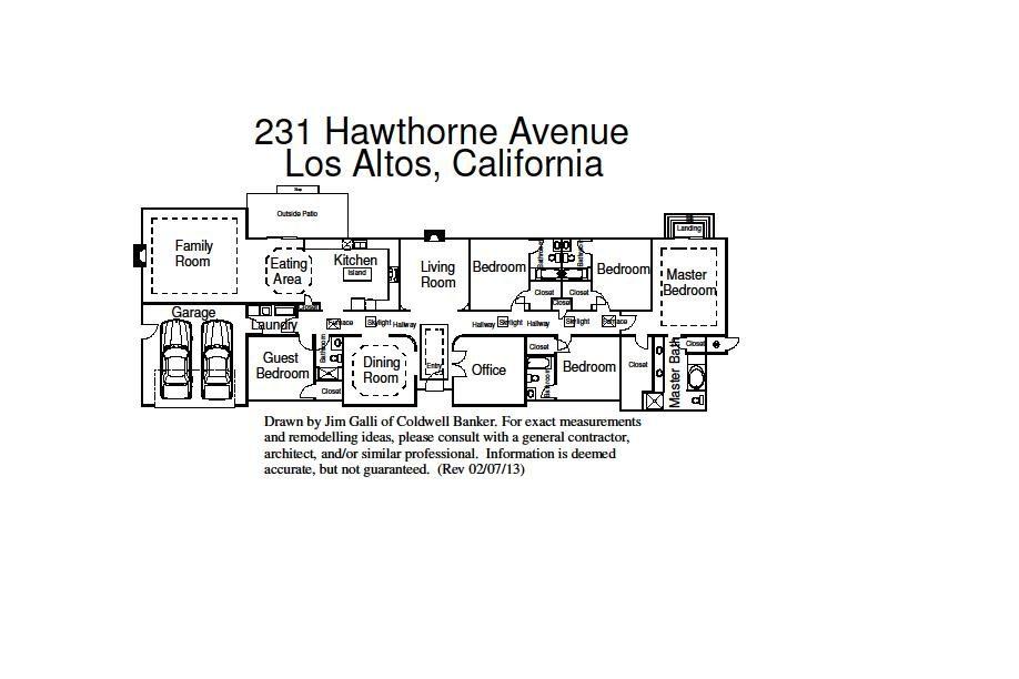 231 Hawthorne Ave - Floor Plan